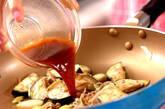 ピリ辛ナスメンマの作り方3