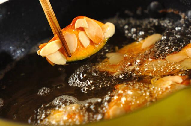 パンプキンアーモンド揚げの作り方の手順5