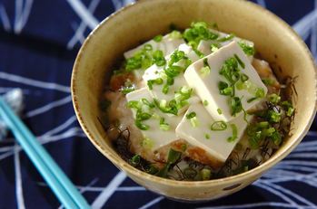 トロトロ豆腐丼