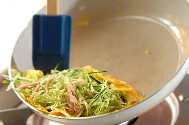 オム冷麺の作り方の手順5