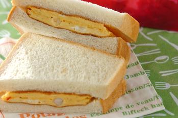 エビと卵のサンドイッチ