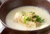 豆乳湯豆腐なべ