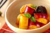 サツマイモとプルーンのオレンジ煮