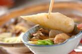 きりたんぽ鍋の作り方12