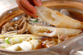 きりたんぽ鍋の作り方2