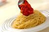 ツナとトマトのパスタの作り方の手順4