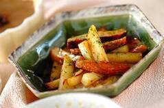 ジャガイモのユズポン炒め