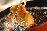 アジのフライ梅肉ソースの作り方2