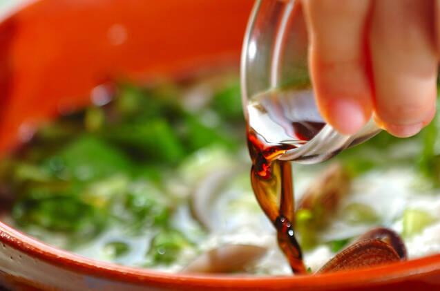 アジアン風雑炊の作り方の手順3