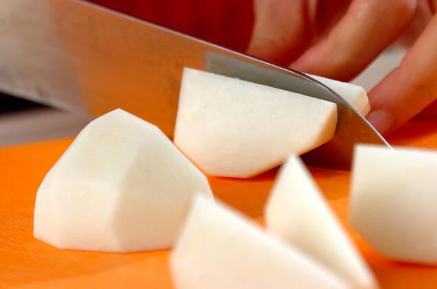 アジアン風雑炊の作り方の手順1