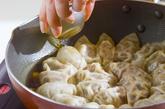 フライパン簡単餃子の作り方4