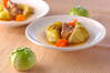 春キャベツの甘煮の作り方の手順