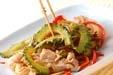 ゴーヤと鶏肉の炒め物の作り方4