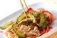 ゴーヤと鶏肉の炒め物の作り方8