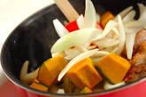 チキンとカボチャのカレーの作り方6