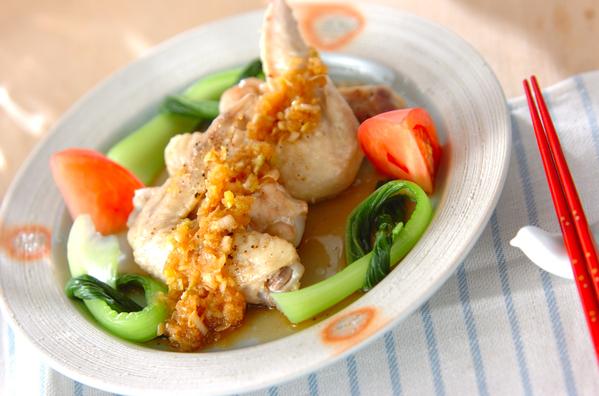時短レシピ!鶏手羽元のレンジ蒸し