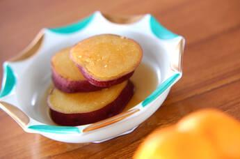定番常備菜!サツマイモの甘辛煮