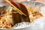 秋のかき揚げ京風ヌードルの作り方1