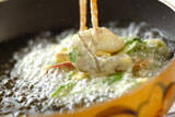 秋のかき揚げ京風ヌードルの作り方の手順3
