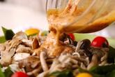納豆ドレッシング・サラダの作り方3