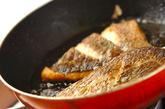 鯛のハーブソテーの作り方2