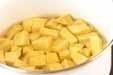 つぶつぶカボチャスープの作り方1