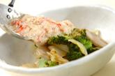 蒸し焼き野菜のカニあんかけの作り方4