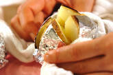 ベイクドポテトのバターのせの作り方2