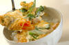 卵ふんわり親子丼の作り方の手順8