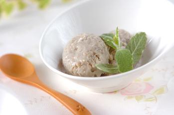 豆腐とバナナのヘルシーアイスクリーム