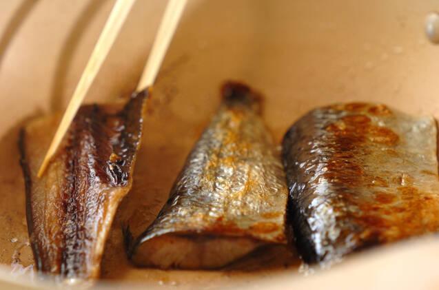 ソフトニシンの漬け焼きの作り方の手順3