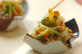 ナメコと水菜のおろし和えの作り方3