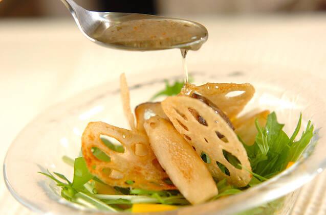 レンコンとエリンギのサラダの作り方の手順9