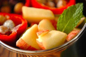 リンゴのハチミツマリネ