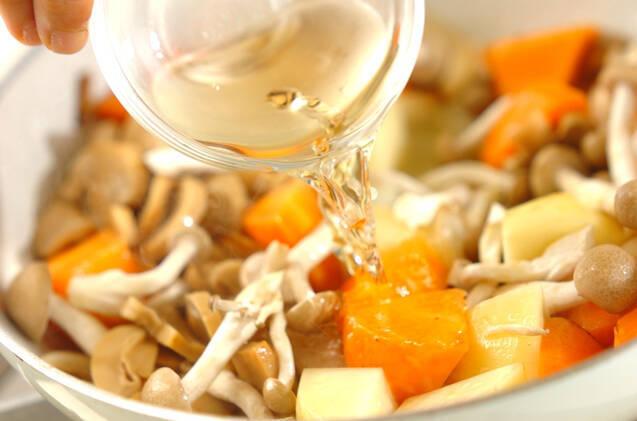 鶏肉のクリームシチューの作り方の手順9
