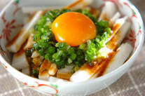 長芋のサラダ