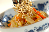 炒め野菜のサラダの作り方4