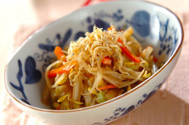 炒め野菜のサラダ
