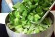 青菜の磯和えの作り方1