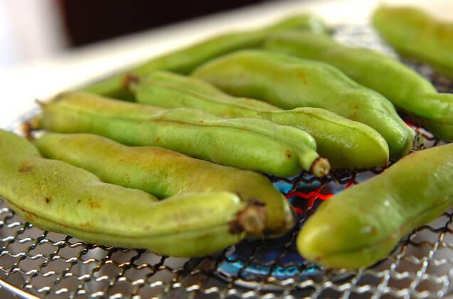 焼きソラ豆の作り方の手順1