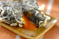 卵のり天ぷら