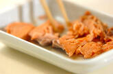 鮭とイクラの親子寿司の作り方2