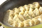プリプリエビ入り餃子の作り方4