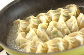 プリプリエビ入り餃子の作り方9