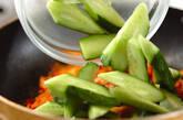 キュウリのキムチ炒めの作り方3