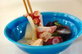 ウドとタコの甘酢和えの作り方2