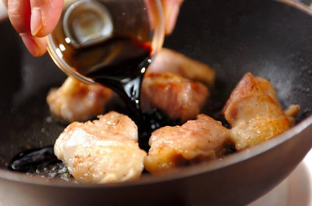 バルサミコチキンの作り方の手順2