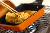 シメジの卵焼きの作り方3