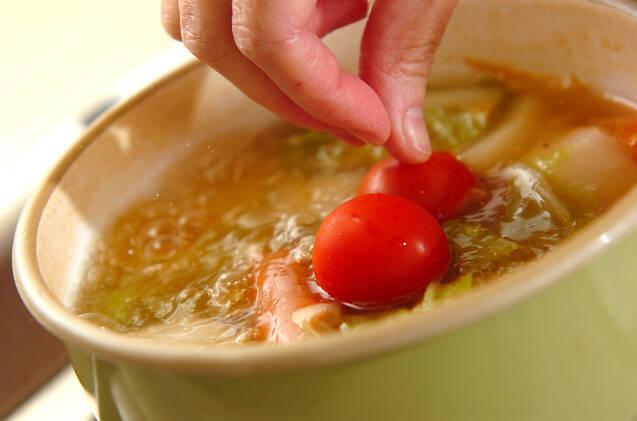 冬野菜のポトフの作り方の手順3