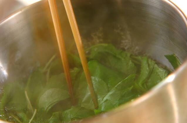 タケノコのカラシ和えの作り方の手順2